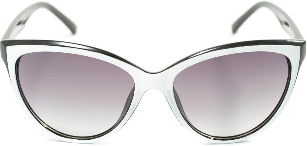 Очки солнцезащитные женские Mitya Veselkov, цвет: белый. OS-188BM8434-58AEПрекрасные антибликовые очки Mitya Veselkov, станут прекрасным и стильным аксессуаром для вас и защитят от УФ лучей. Они помогут глазу более четко распознать картинку, засвеченную солнечными лучами, при этом скорректируют все возникшие искажения.