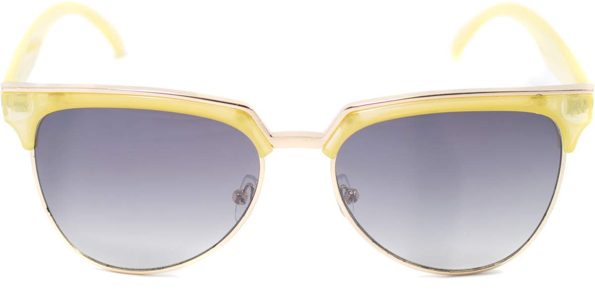 Очки солнцезащитные женские Mitya Veselkov, цвет: желтый. OS-127BM8434-58AEПрекрасные антибликовые очки Mitya Veselkov, станут прекрасным и стильным аксессуаром для вас и защитят от УФ лучей. Они помогут глазу более четко распознать картинку, засвеченную солнечными лучами, при этом скорректируют все возникшие искажения.