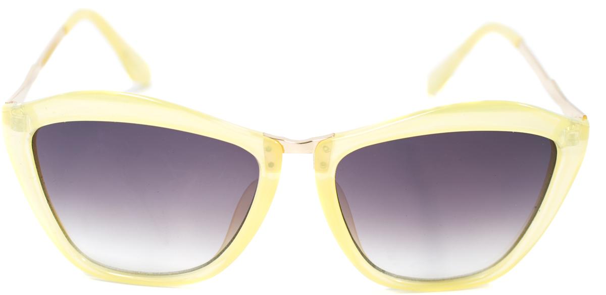 Очки солнцезащитные женские Mitya Veselkov, цвет: желтый. OS-154INT-06501Прекрасные антибликовые очки Mitya Veselkov, станут прекрасным и стильным аксессуаром для вас и защитят от УФ лучей. Они помогут глазу более четко распознать картинку, засвеченную солнечными лучами, при этом скорректируют все возникшие искажения.