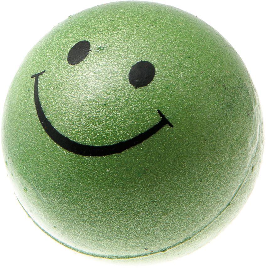Мяч V.I.Pet Смайлик, цвет: зеленый металлик, диаметр 47 мм. 20-110116357_оранжевыйПредназначен для игр, тренировок и активного отдыха с животными. Мяч заинтересует и увлечёт вашего питомца. Сделана из абсолютно безопасного и качественного материала. Материал: вспененная резина.