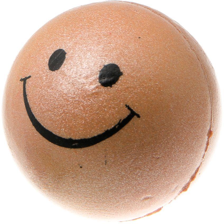 Мяч V.I.Pet Смайлик, цвет: синий металлик, диаметр 47 мм. 20-1103GLG036Предназначен для игр, тренировок и активного отдыха с животными. Мяч заинтересует и увлечёт вашего питомца. Сделана из абсолютно безопасного и качественного материала. Материал: вспененная резина.