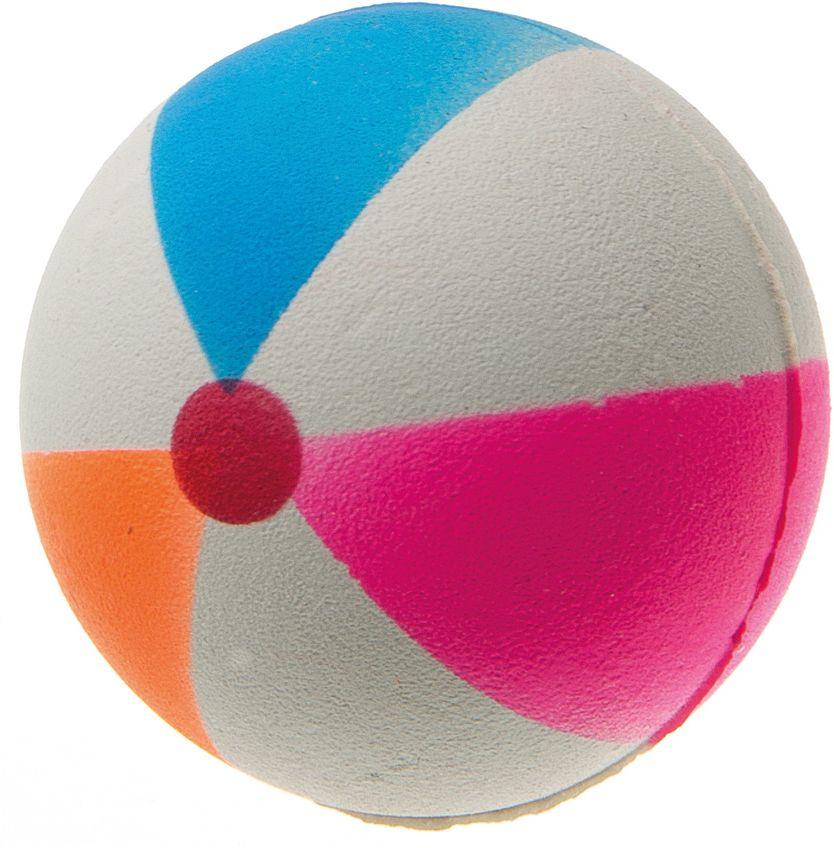 Мяч пляжный V.I.Pet, цвет: мультиколор, диаметр 47 мм. 20-110520-1105Предназначен для игр, тренировок и активного отдыха с животными. Мяч заинтересует и увлечёт вашего питомца. Сделана из абсолютно безопасного и качественного материала. Материал: вспененная резина.