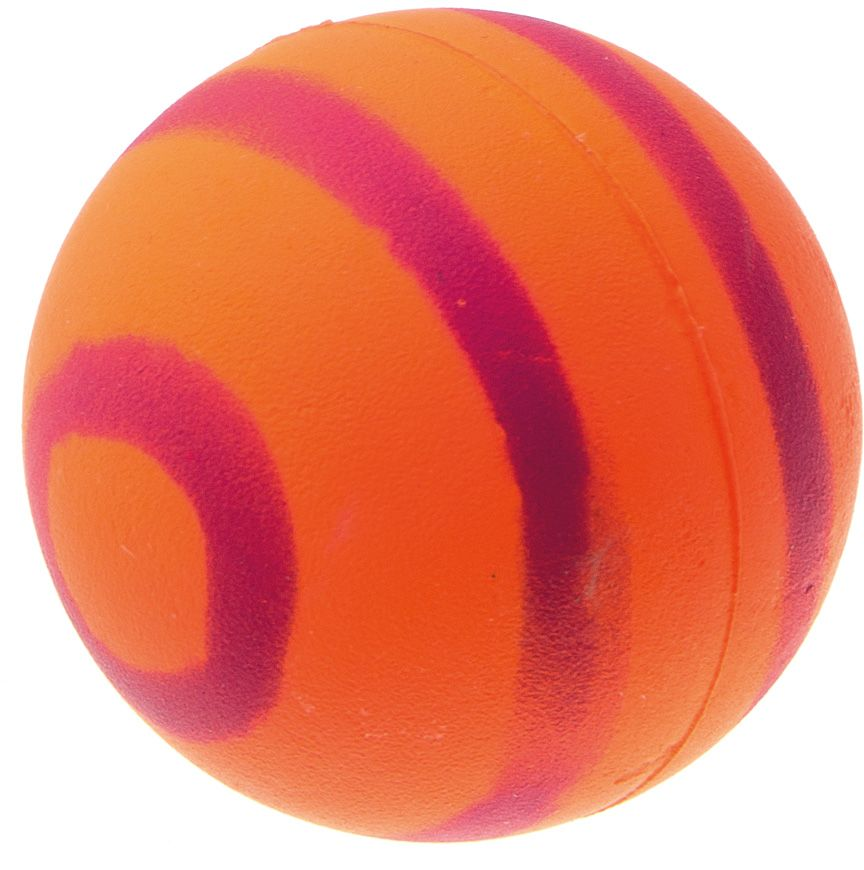 Мяч V.I.Pet Неон, цвет: оранжевый, фиолетовый, диаметр 47 мм. 20-11100120710Мяч V.I.Pet Неон предназначен для игр, тренировок и активного отдыха с животными. Мяч заинтересует и увлечет вашего питомца. Сделана из абсолютно безопасного и качественного материала. Материал: вспененная резина.