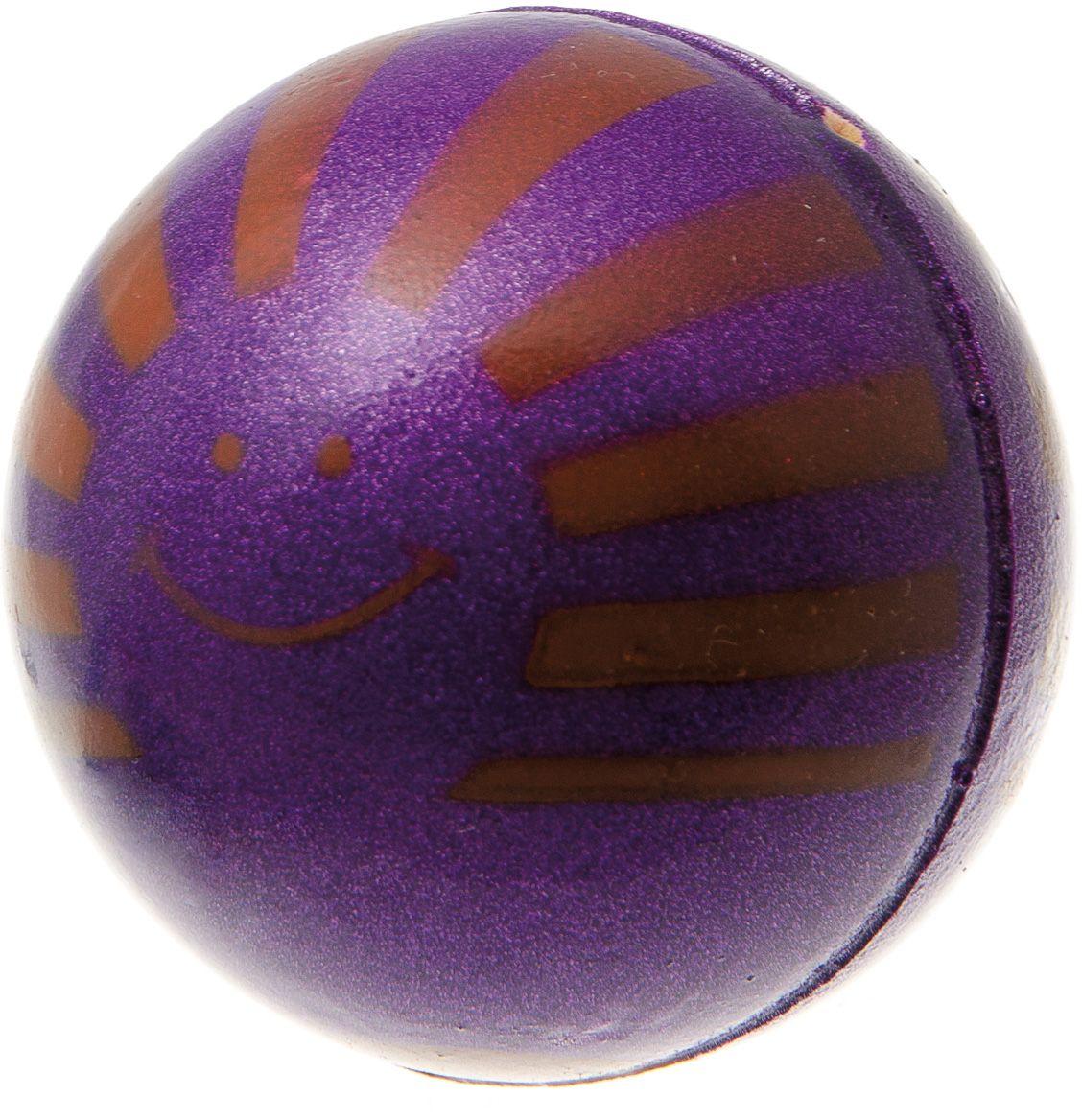 Мяч V.I.Pet Солнце, цвет: фиолетовый, диаметр 63 мм. 20-111820-1118Предназначен для игр, тренировок и активного отдыха с животными. Мяч заинтересует и увлечёт вашего питомца. Сделана из абсолютно безопасного и качественного материала. Материал: вспененная резина.