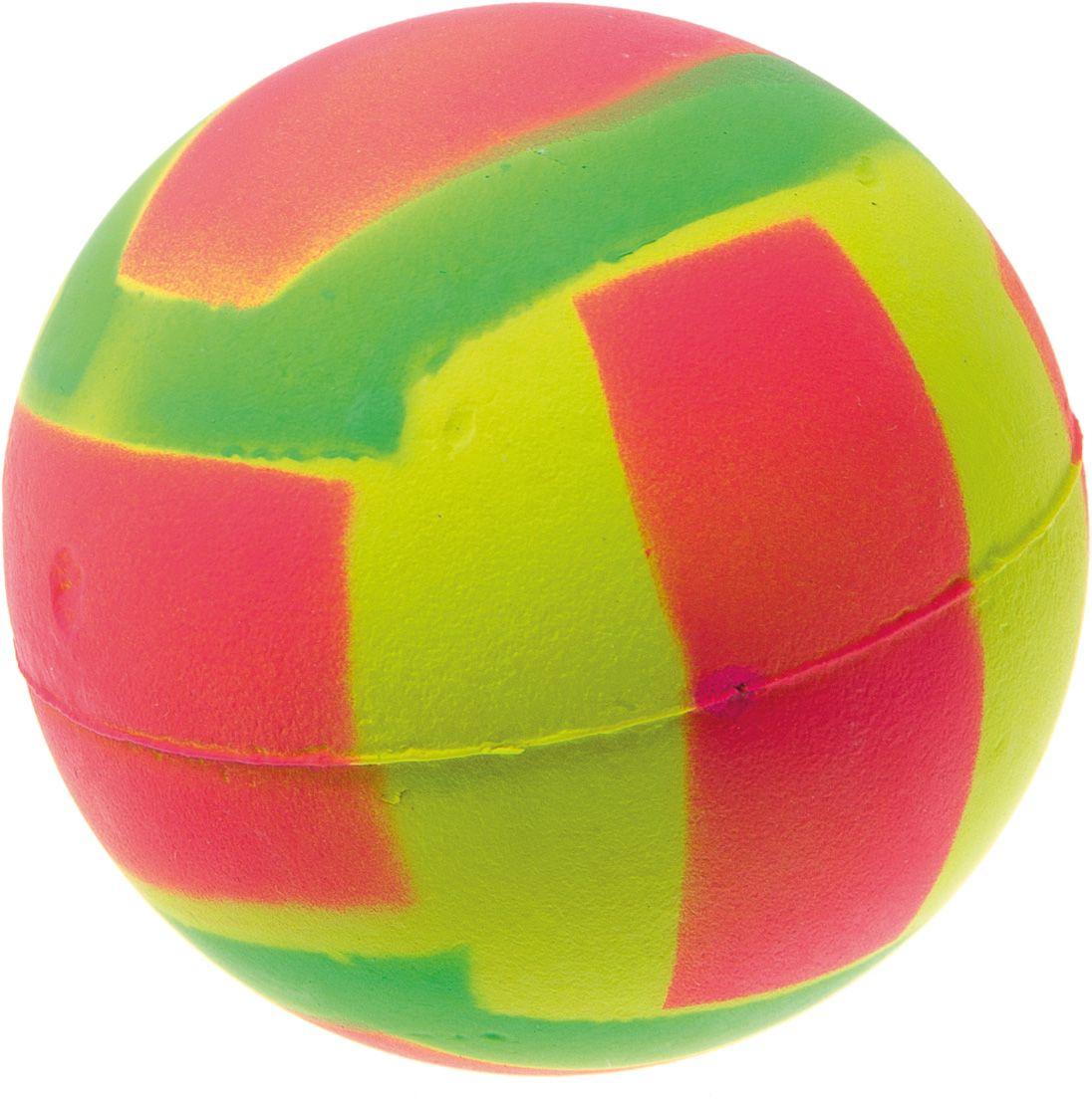 Мяч волейбольный V.I.Pet Неон, цвет: мультиколор, диаметр 63 мм. 20-11190120710Предназначен для игр, тренировок и активного отдыха с животными. Мяч заинтересует и увлечёт вашего питомца. Сделана из абсолютно безопасного и качественного материала. Материал: вспененная резина.