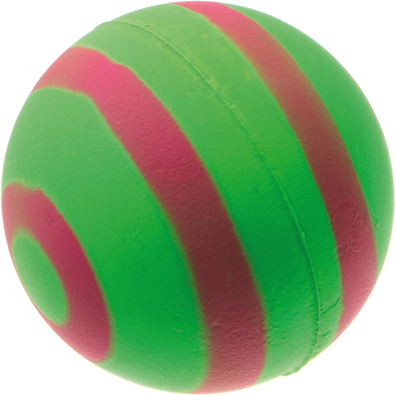 Мяч V.I.Pet Неон, цвет: зеленый, красный, диаметр 63 мм. 20-112275311Мяч V.I.Pet Неон предназначен для игр, тренировок и активного отдыха с животными. Мяч заинтересует и увлечет вашего питомца. Сделана из абсолютно безопасного и качественного материала. Материал: вспененная резина.