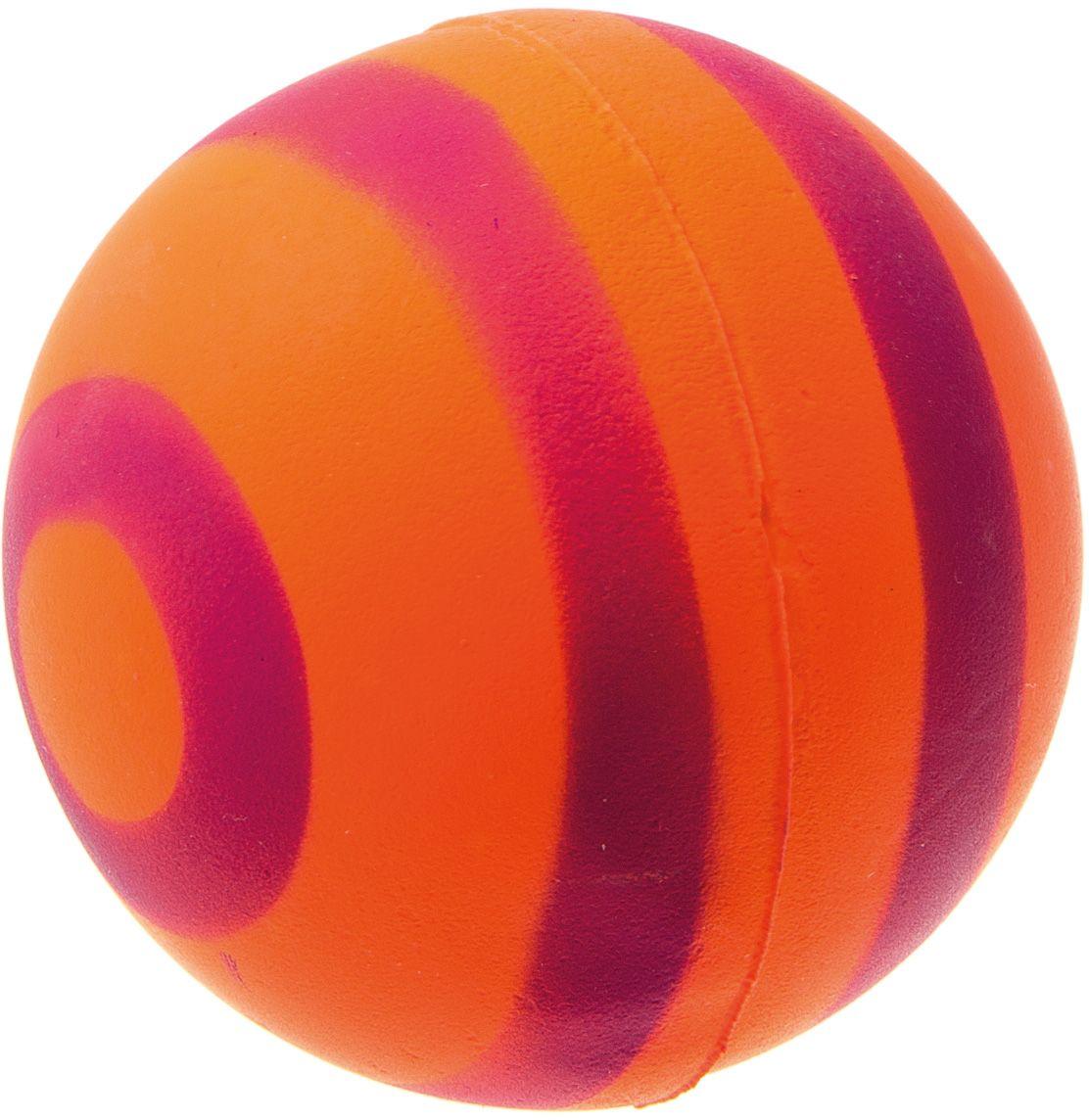 Мяч V.I.Pet Неон, цвет: оранжевый, фиолетовый, диаметр 63 мм. 20-11230120710Мяч V.I.Pet Неон предназначен для игр, тренировок и активного отдыха с животными. Мяч заинтересует и увлечет вашего питомца. Сделана из абсолютно безопасного и качественного материала. Материал: вспененная резина.
