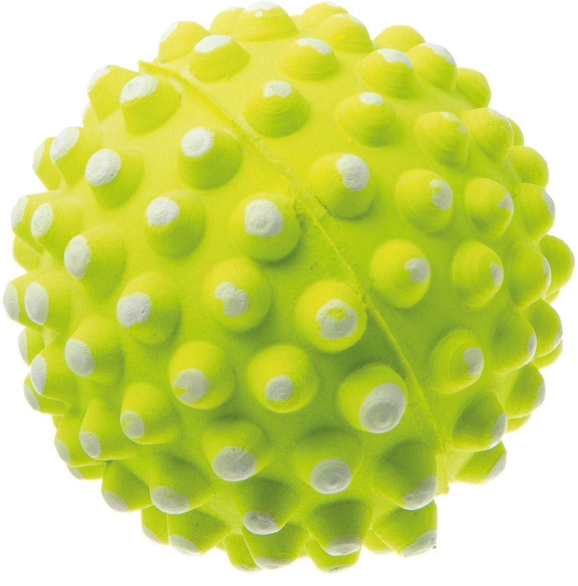 Мяч V.I.Pet Коралл, цвет: желтый, диаметр 72 мм. 20-112520-1125Мяч V.I.Pet Коралл предназначен для игр, тренировок и активного отдыха с животными. Мяч заинтересует и увлечёт вашего питомца. Сделана из абсолютно безопасного и качественного материала. Материал: вспененная резина.