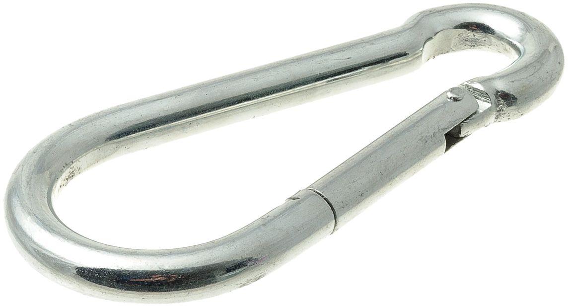 Карабин монтажный V.I.Pet Кит, цвет: серебристый, 140 х 12 мм. 245M-140M245M-140MПрочный и удобный монтажный карабин для поводков.Размер карабина: 140 х 12 мм.Материал: сталь.