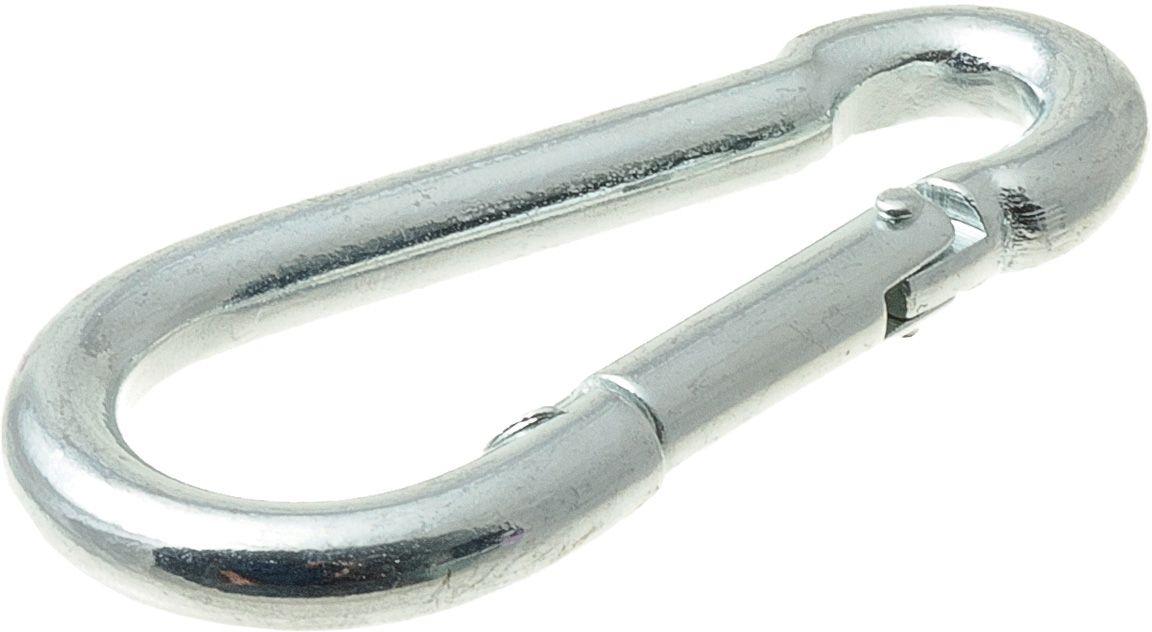 Карабин монтажный V.I.Pet Кит, цвет: серебристый, 90 х 9 мм. 245M-90M0120710Прочный и удобный монтажный карабин для поводков.Размер карабина: 90 х 9 мм.Материал: сталь.