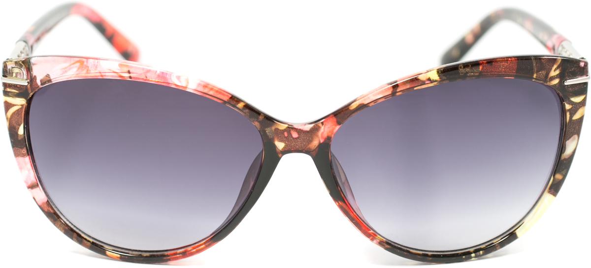 Очки солнцезащитные женские Mitya Veselkov, цвет: коричневый, розовый. OS-162BM8434-58AEПрекрасные антибликовые очки Mitya Veselkov, станут прекрасным и стильным аксессуаром для вас и защитят от УФ лучей. Они помогут глазу более четко распознать картинку, засвеченную солнечными лучами, при этом скорректируют все возникшие искажения.