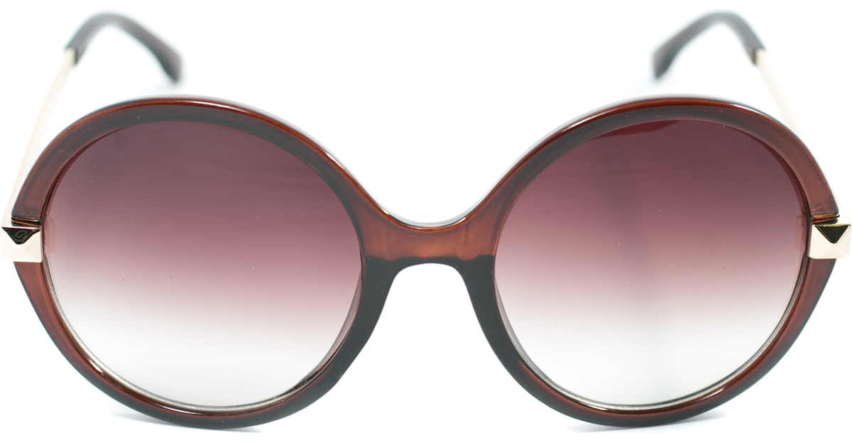Очки солнцезащитные женские Mitya Veselkov, цвет: коричневый. OS-115BM8434-58AEПрекрасные антибликовые очки Mitya Veselkov, станут прекрасным и стильным аксессуаром для вас и защитят от УФ лучей. Они помогут глазу более четко распознать картинку, засвеченную солнечными лучами, при этом скорректируют все возникшие искажения.