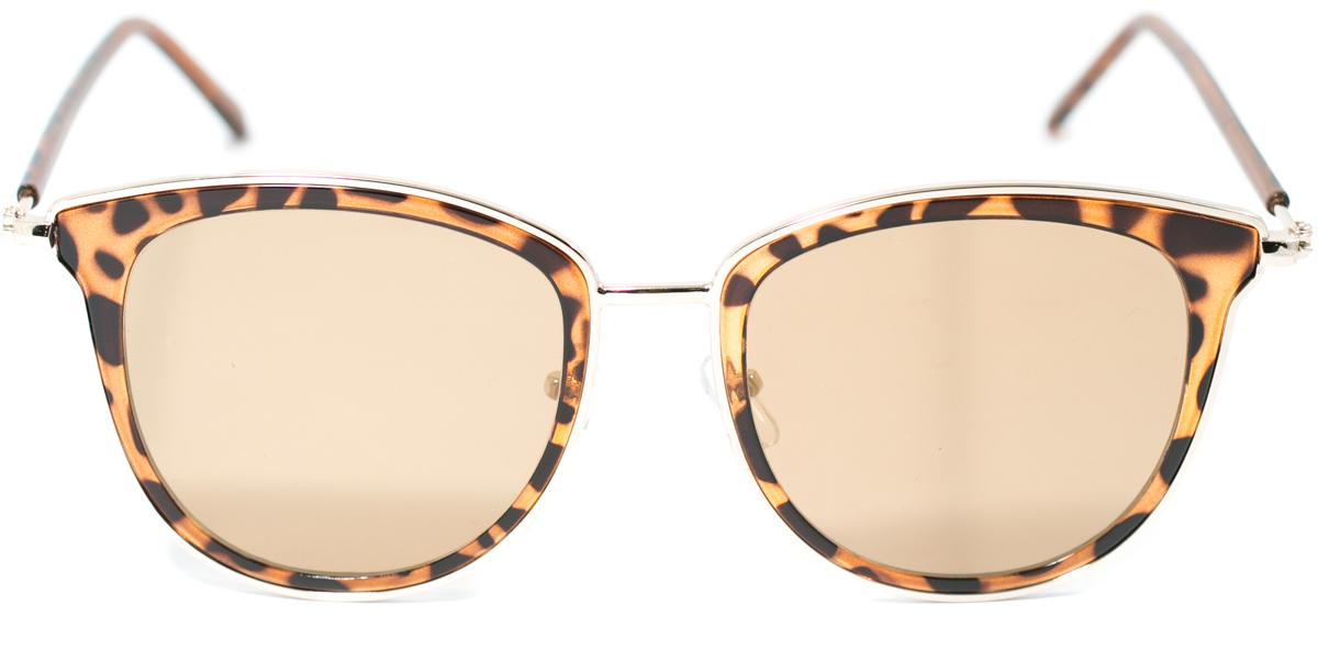 Очки солнцезащитные женские Mitya Veselkov, цвет: коричневый. OS-124INT-06501Прекрасные антибликовые очки Mitya Veselkov, станут прекрасным и стильным аксессуаром для вас и защитят от УФ лучей. Они помогут глазу более четко распознать картинку, засвеченную солнечными лучами, при этом скорректируют все возникшие искажения.