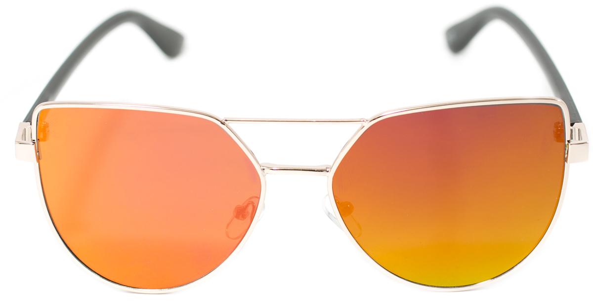 Очки солнцезащитные женские Mitya Veselkov, цвет: коричневый. OS-133INT-06501Прекрасные антибликовые очки Mitya Veselkov, станут прекрасным и стильным аксессуаром для вас и защитят от УФ лучей. Они помогут глазу более четко распознать картинку, засвеченную солнечными лучами, при этом скорректируют все возникшие искажения.