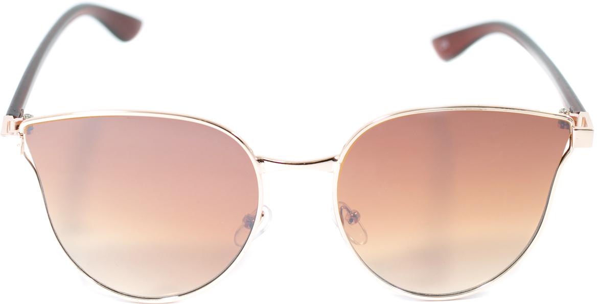 Очки солнцезащитные женские Mitya Veselkov, цвет: коричневый. OS-134BM8434-58AEПрекрасные антибликовые очки Mitya Veselkov, станут прекрасным и стильным аксессуаром для вас и защитят от УФ лучей. Они помогут глазу более четко распознать картинку, засвеченную солнечными лучами, при этом скорректируют все возникшие искажения.
