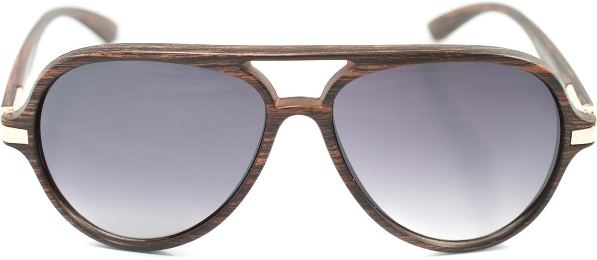 Очки солнцезащитные женские Mitya Veselkov, цвет: коричневый. OS-138BM8434-58AEПрекрасные антибликовые очки Mitya Veselkov, станут прекрасным и стильным аксессуаром для вас и защитят от УФ лучей. Они помогут глазу более четко распознать картинку, засвеченную солнечными лучами, при этом скорректируют все возникшие искажения.