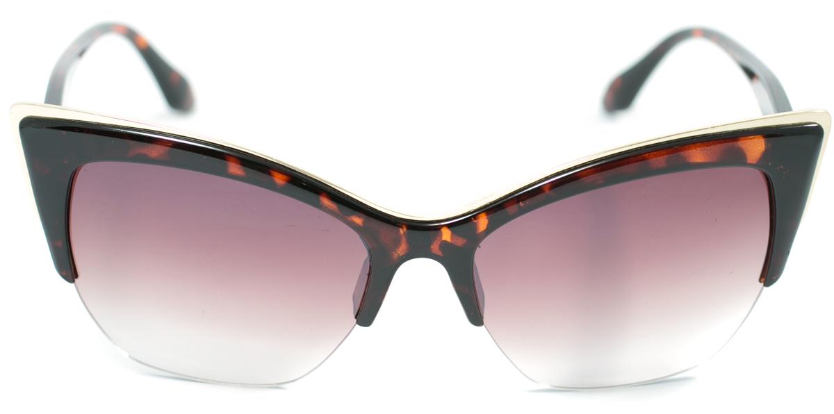 Очки солнцезащитные женские Mitya Veselkov, цвет: коричневый. OS-164BM8434-58AEПрекрасные антибликовые очки Mitya Veselkov, станут прекрасным и стильным аксессуаром для вас и защитят от УФ лучей. Они помогут глазу более четко распознать картинку, засвеченную солнечными лучами, при этом скорректируют все возникшие искажения.