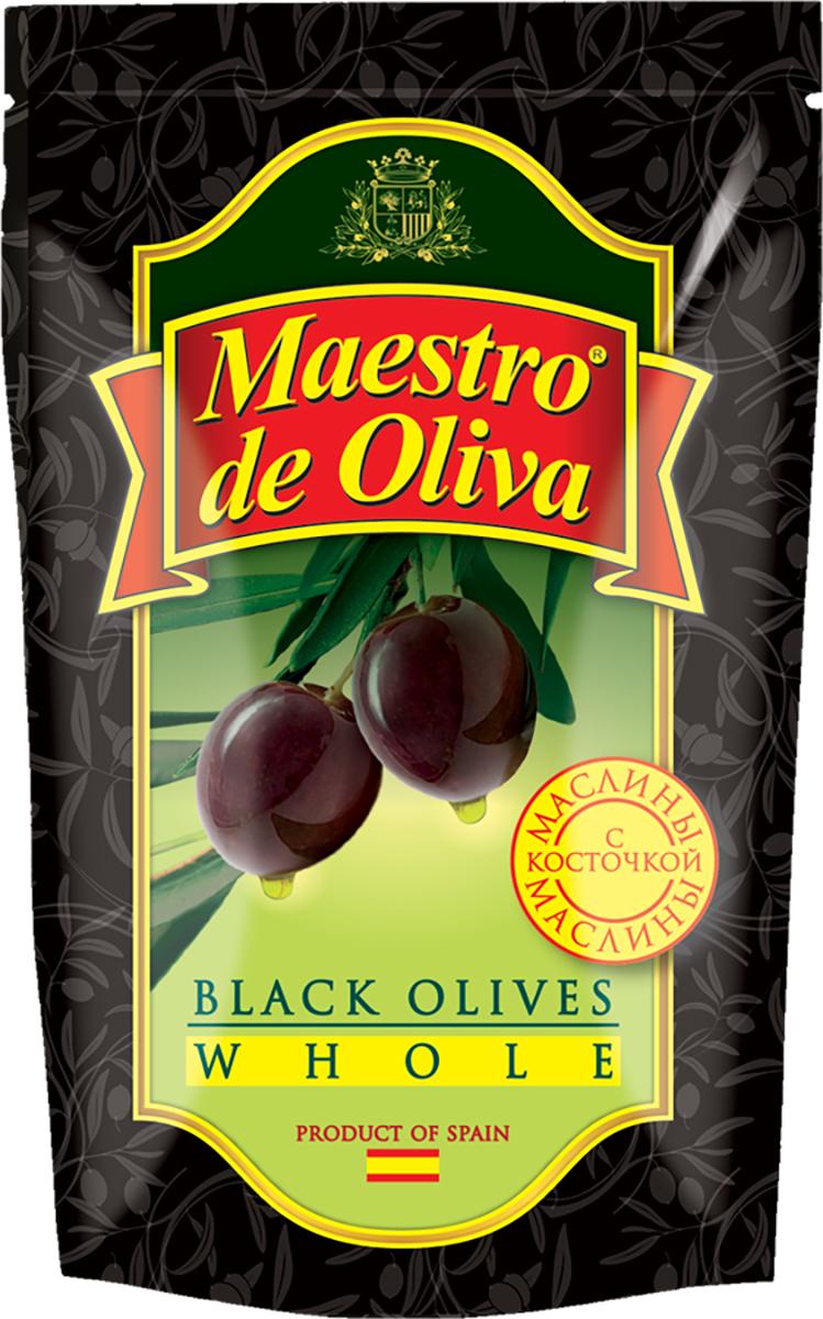 Maestro de Oliva Маслины c косточкой, 170 г0120710Маслины с косточками Maestro de Oliva - высококачественный консервированный продукт. Маслины богаты питательными веществами и витаминами, являются ценным источником пектина, отвечающего за восстановление хрящевой ткани и регенерацию кожи. Высокий процент содержания йода делает этот продукт чрезвычайно полезным для регулярного употребления, а природные масла обеспечивают организм необходимыми жирными кислотами, способными регулировать уровень холестерина в крови и улучшать процесс обмена веществ.
