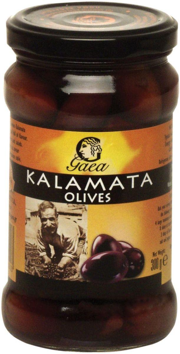 GAEA Оливки Каламата, 300 г0120710Оливки этой марки имеют хороший, свежий вид. Откроешь баночку - плоды яркие, блестящие. Цвет у них естественный, соответствует цвету настоящих олив.