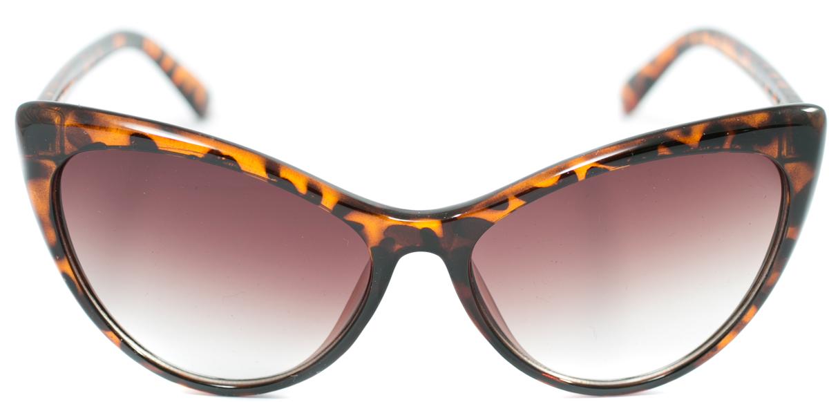 Очки солнцезащитные женские Mitya Veselkov, цвет: коричневый. OS-169INT-06501Прекрасные антибликовые очки Mitya Veselkov, станут прекрасным и стильным аксессуаром для вас и защитят от УФ лучей. Они помогут глазу более четко распознать картинку, засвеченную солнечными лучами, при этом скорректируют все возникшие искажения.
