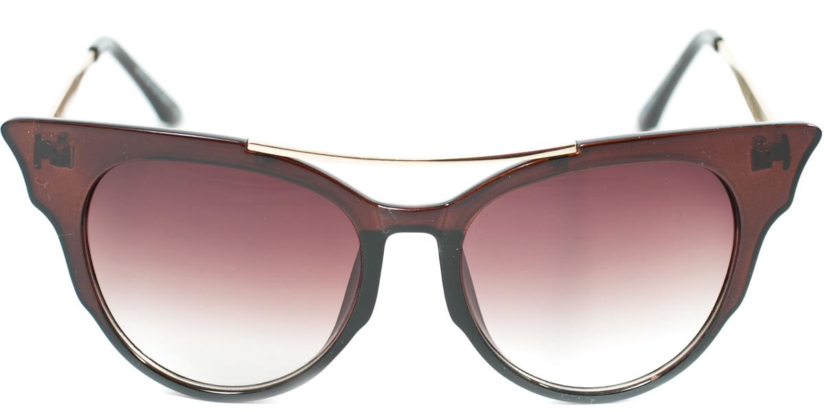 Очки солнцезащитные женские Mitya Veselkov, цвет: коричневый. OS-176BM8434-58AEПрекрасные антибликовые очки Mitya Veselkov, станут прекрасным и стильным аксессуаром для вас и защитят от УФ лучей. Они помогут глазу более четко распознать картинку, засвеченную солнечными лучами, при этом скорректируют все возникшие искажения.