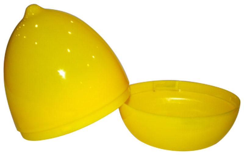 Емкость для лимона Plastic Centre, цвет: желтый115510Контейнер состоит из корпуса и крышки в форме лимона. Яркий и привлекательный дизайн прекрасно подойдет как для хранения в холодильнике, так и для подачи на стол. Завинчивающаяся крышка плотно соединяет две половинки корпуса, предохраняя от незапланированного раскрытия. Лимон можно хранить как целиком, так и нарезанный на дольки.Размер изделия: 8,5 x 8,5 x 10,6 см.Вес изделия: 40 г.