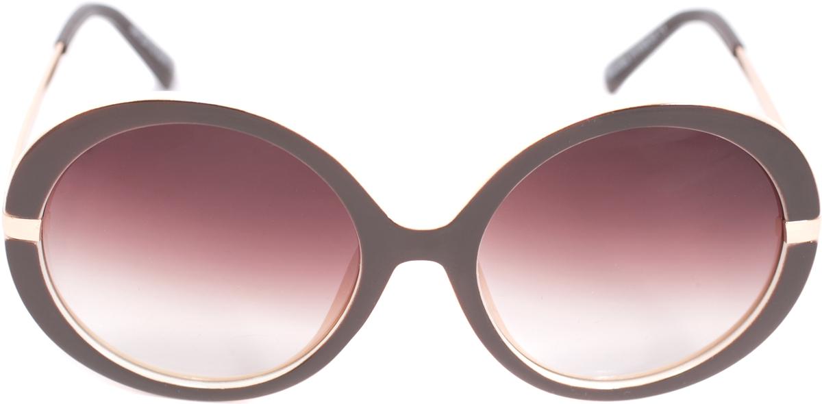 Очки солнцезащитные женские Mitya Veselkov, цвет: коричневый. OS-222INT-06501Прекрасные антибликовые очки Mitya Veselkov, станут прекрасным и стильным аксессуаром для вас и защитят от УФ лучей. Они помогут глазу более четко распознать картинку, засвеченную солнечными лучами, при этом скорректируют все возникшие искажения.