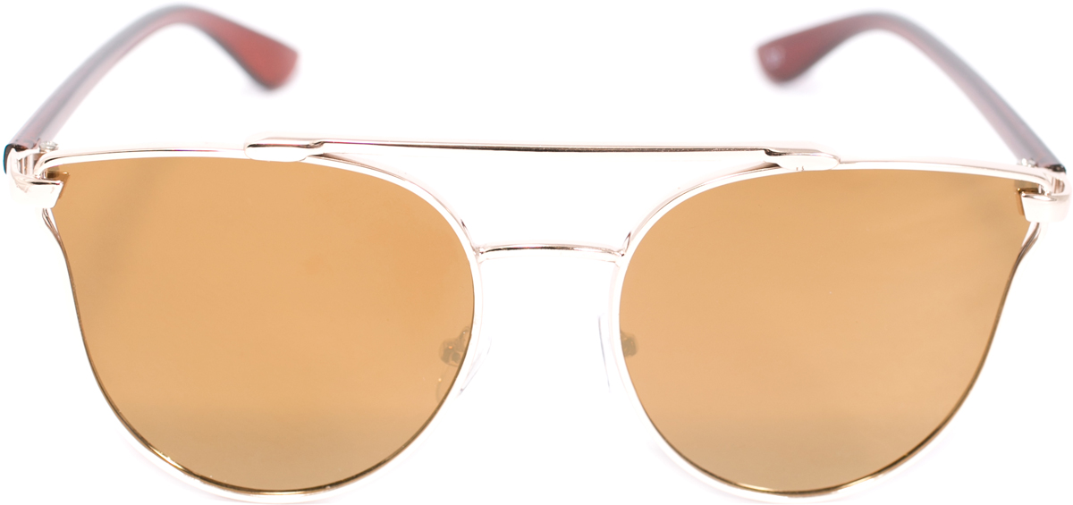 Очки солнцезащитные женские Mitya Veselkov, цвет: коричневый. OS-226INT-06501Прекрасные антибликовые очки Mitya Veselkov, станут прекрасным и стильным аксессуаром для вас и защитят от УФ лучей. Они помогут глазу более четко распознать картинку, засвеченную солнечными лучами, при этом скорректируют все возникшие искажения.