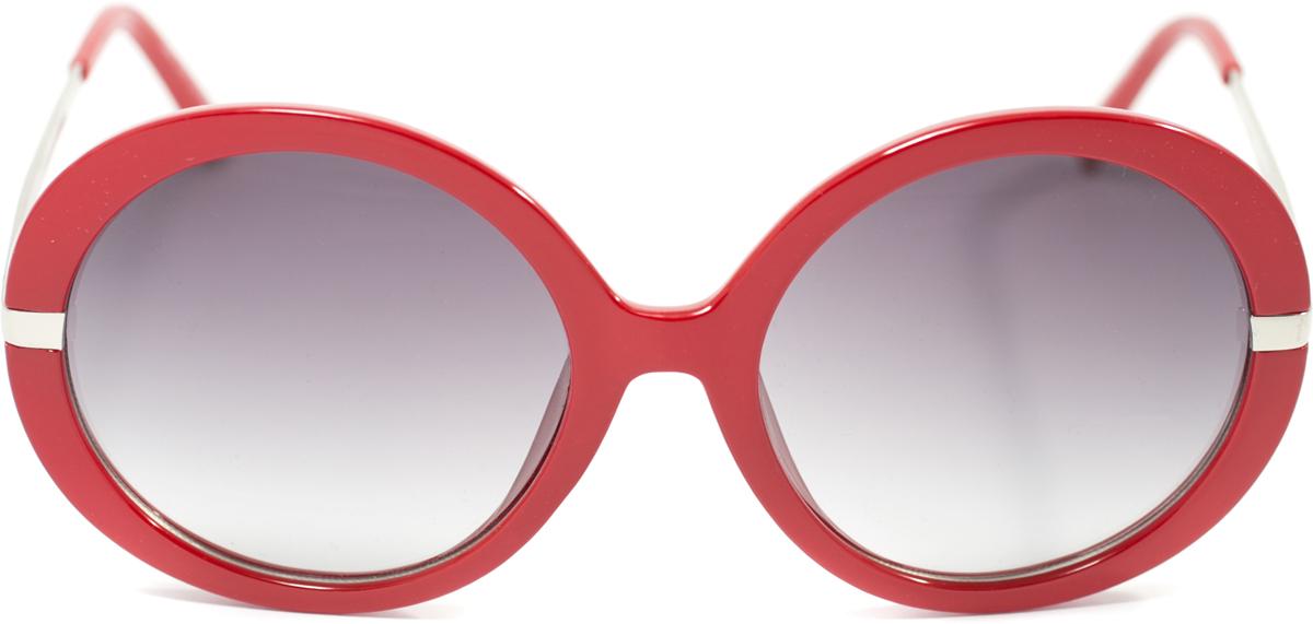 Очки солнцезащитные женские Mitya Veselkov, цвет: красный. OS-117BM8434-58AEПрекрасные антибликовые очки Mitya Veselkov, станут прекрасным и стильным аксессуаром для вас и защитят от УФ лучей. Они помогут глазу более четко распознать картинку, засвеченную солнечными лучами, при этом скорректируют все возникшие искажения.