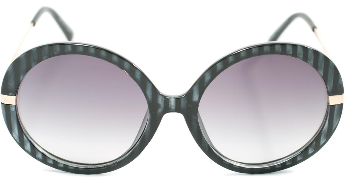 Очки солнцезащитные женские Mitya Veselkov, цвет: темно-серый. OS-118BM8434-58AEПрекрасные антибликовые очки Mitya Veselkov, станут прекрасным и стильным аксессуаром для вас и защитят от УФ лучей. Они помогут глазу более четко распознать картинку, засвеченную солнечными лучами, при этом скорректируют все возникшие искажения.