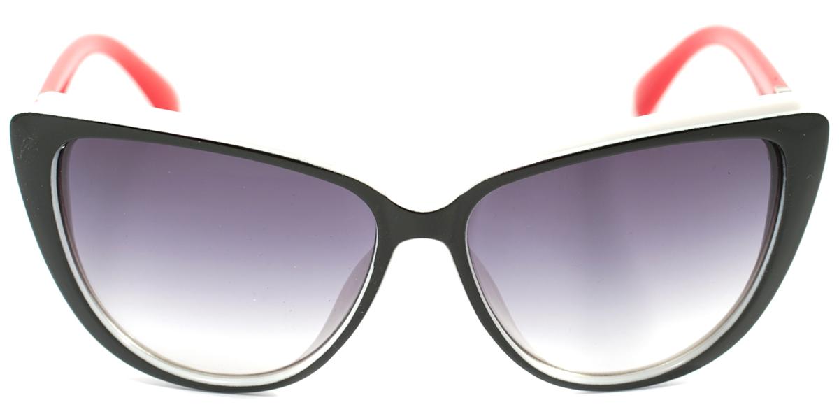 Очки солнцезащитные женские Mitya Veselkov, цвет: черный, красный. OS-171INT-06501Прекрасные антибликовые очки Mitya Veselkov, станут прекрасным и стильным аксессуаром для вас и защитят от УФ лучей. Они помогут глазу более четко распознать картинку, засвеченную солнечными лучами, при этом скорректируют все возникшие искажения.