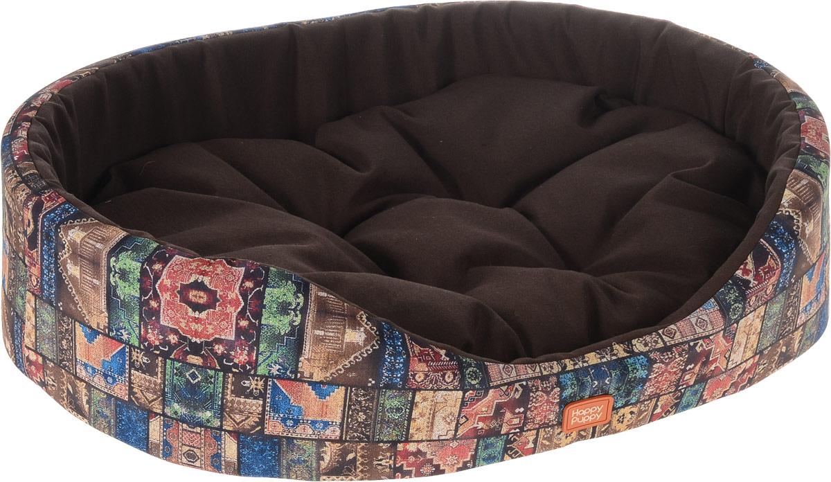 Лежак для собак Happy Puppy Восточные сказки-4, 57 x 44 x 15 см комбинезон для собак happy puppy фортуна розовый унисекс размер 4