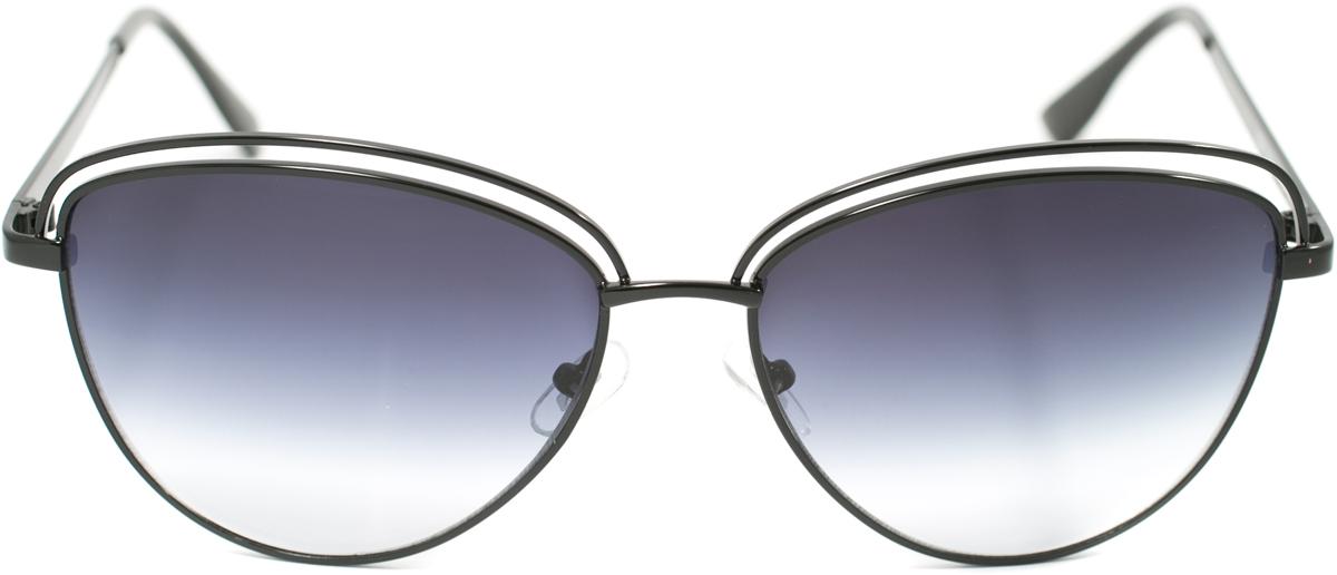 Очки солнцезащитные женские Mitya Veselkov, цвет: черный. OS-139BM8434-58AEПрекрасные антибликовые очки Mitya Veselkov, станут прекрасным и стильным аксессуаром для вас и защитят от УФ лучей. Они помогут глазу более четко распознать картинку, засвеченную солнечными лучами, при этом скорректируют все возникшие искажения.