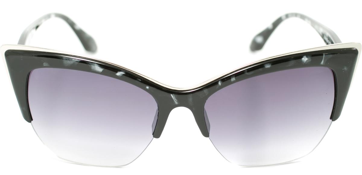 Очки солнцезащитные женские Mitya Veselkov, цвет: черный. OS-165INT-06501Прекрасные антибликовые очки Mitya Veselkov, станут прекрасным и стильным аксессуаром для вас и защитят от УФ лучей. Они помогут глазу более четко распознать картинку, засвеченную солнечными лучами, при этом скорректируют все возникшие искажения.
