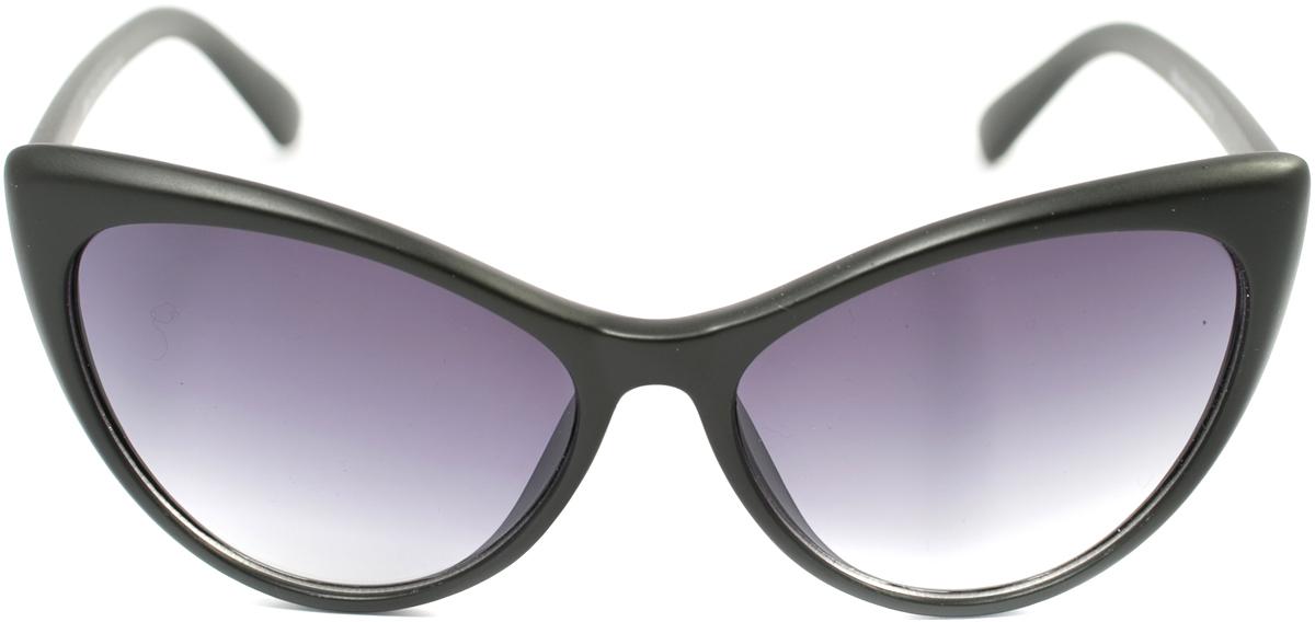 Очки солнцезащитные женские Mitya Veselkov, цвет: черный. OS-166BM8434-58AEПрекрасные антибликовые очки Mitya Veselkov, станут прекрасным и стильным аксессуаром для вас и защитят от УФ лучей. Они помогут глазу более четко распознать картинку, засвеченную солнечными лучами, при этом скорректируют все возникшие искажения.