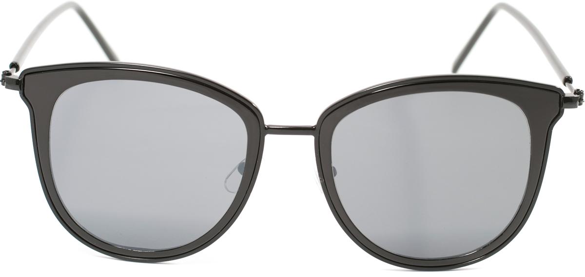 Очки солнцезащитные женские Mitya Veselkov, цвет: черный. OS-1781900671-5605Прекрасные антибликовые очки Mitya Veselkov, станут прекрасным и стильным аксессуаром для вас и защитят от УФ лучей. Они помогут глазу более четко распознать картинку, засвеченную солнечными лучами, при этом скорректируют все возникшие искажения.