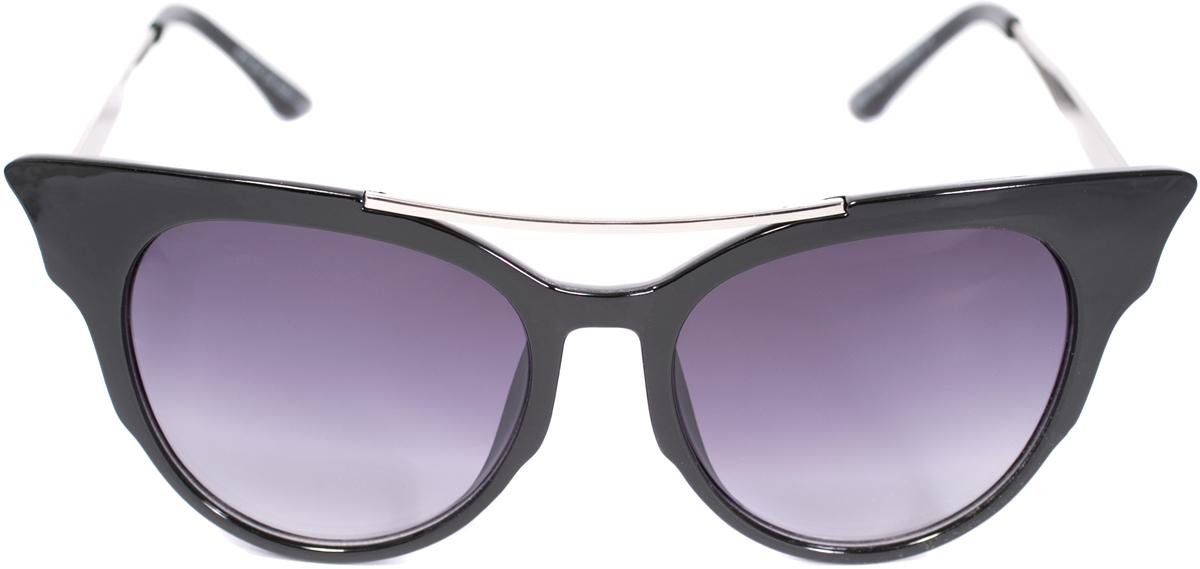 Очки солнцезащитные женские Mitya Veselkov, цвет: черный. OS-233INT-06501Прекрасные антибликовые очки Mitya Veselkov, станут прекрасным и стильным аксессуаром для вас и защитят от УФ лучей. Они помогут глазу более четко распознать картинку, засвеченную солнечными лучами, при этом скорректируют все возникшие искажения.