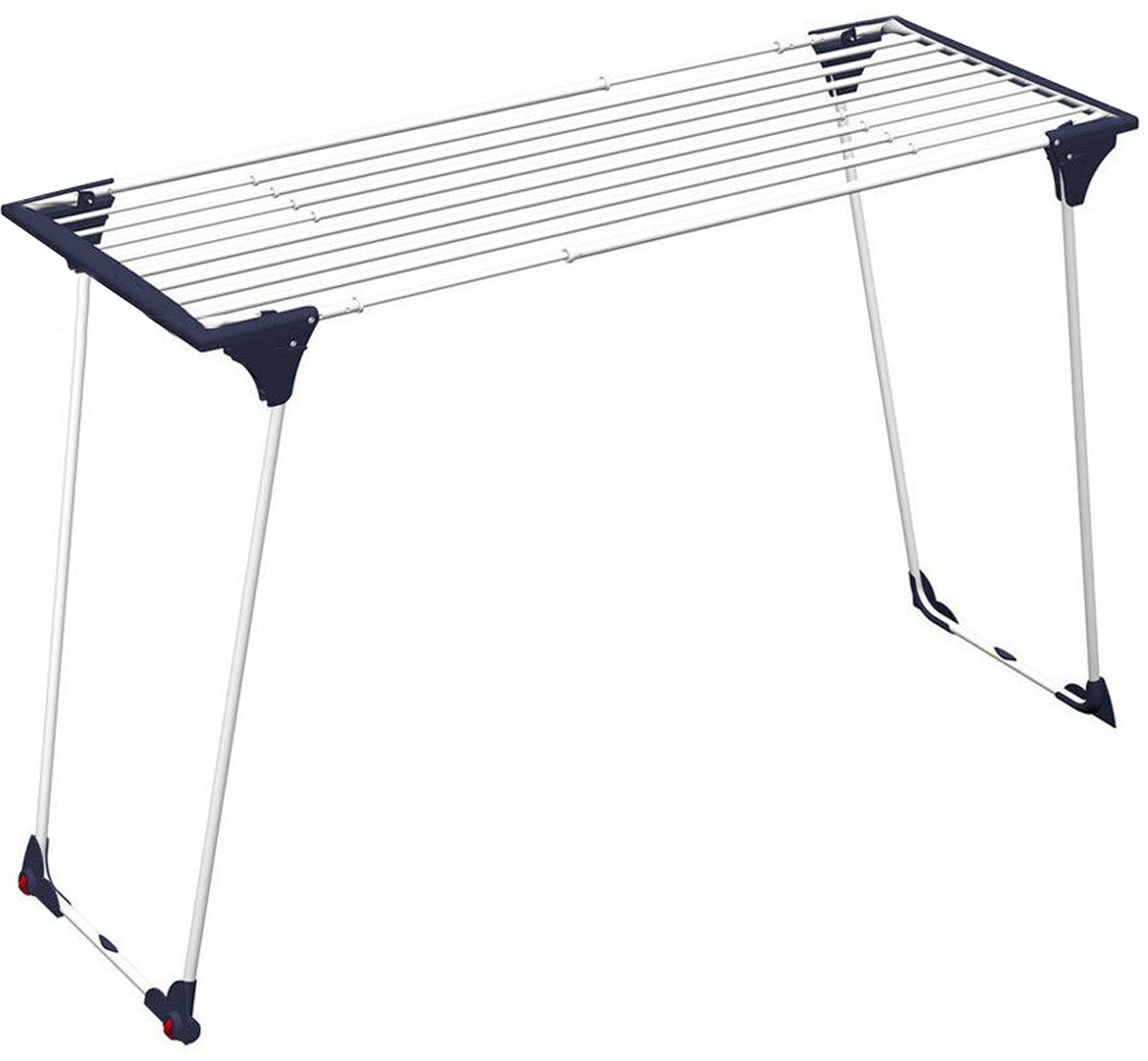 Сушилка напольная Gimi Dinamik 20, 190 см х 57 см х 100 смIR-F1-WСушилка напольная Gimi Dinamik 20 проста и удобна в использовании, компактно складывается, экономя место в Вашей квартире. Сушилку можно использовать на балконе или дома. Сушилка оснащена выдвижными створками для сушки одежды во всю длину, а также имеет специальные пластиковые крепления в основе стоек, которые не царапают пол. Рабочая поверхность от 20 до 28 м. Раздвигается (от 110 до 190 см) с помощью телескопических направляющих. Позволяет свободно развесить как большие простыни, так и белье небольшого размера. Характеристики: Материал: окрашенная сталь, пластик. Размер сушилки: 190 см х 57 см х 100 см. Размер упаковки: 57 см х 9 см х 117 см.