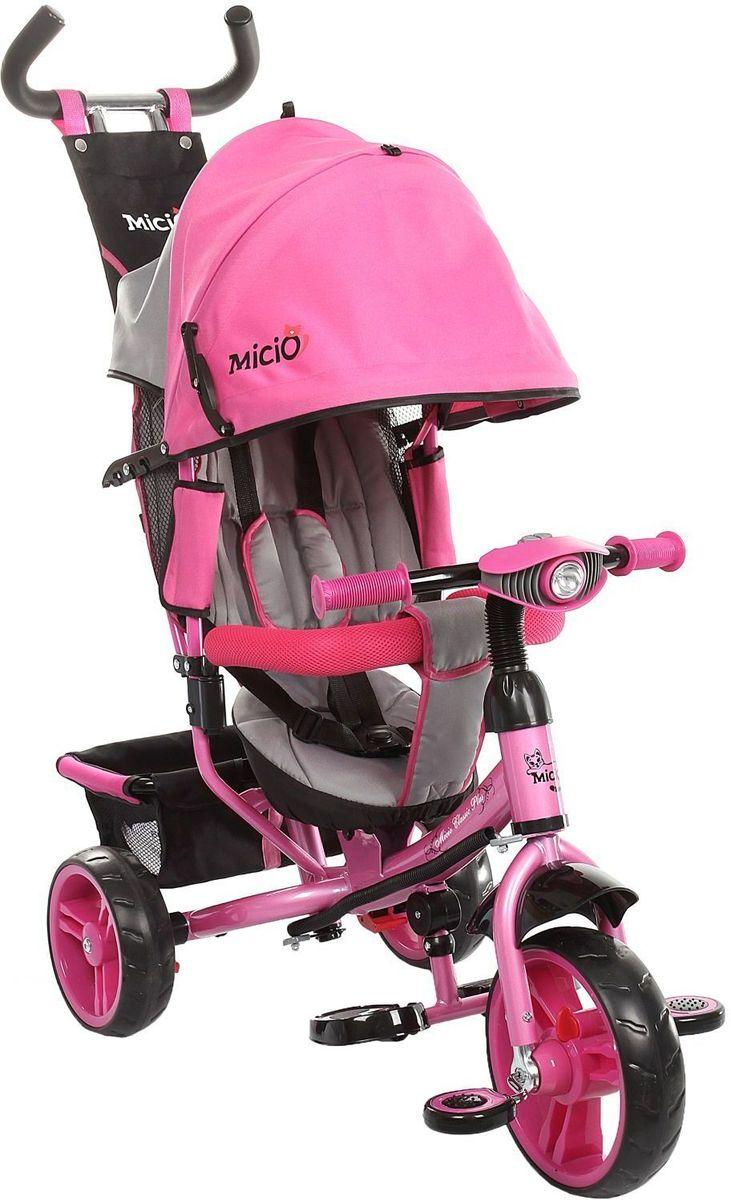 Micio Велосипед детский трехколесный Micio Classic Plus 2016 цвет розовый -  Велосипеды-каталки