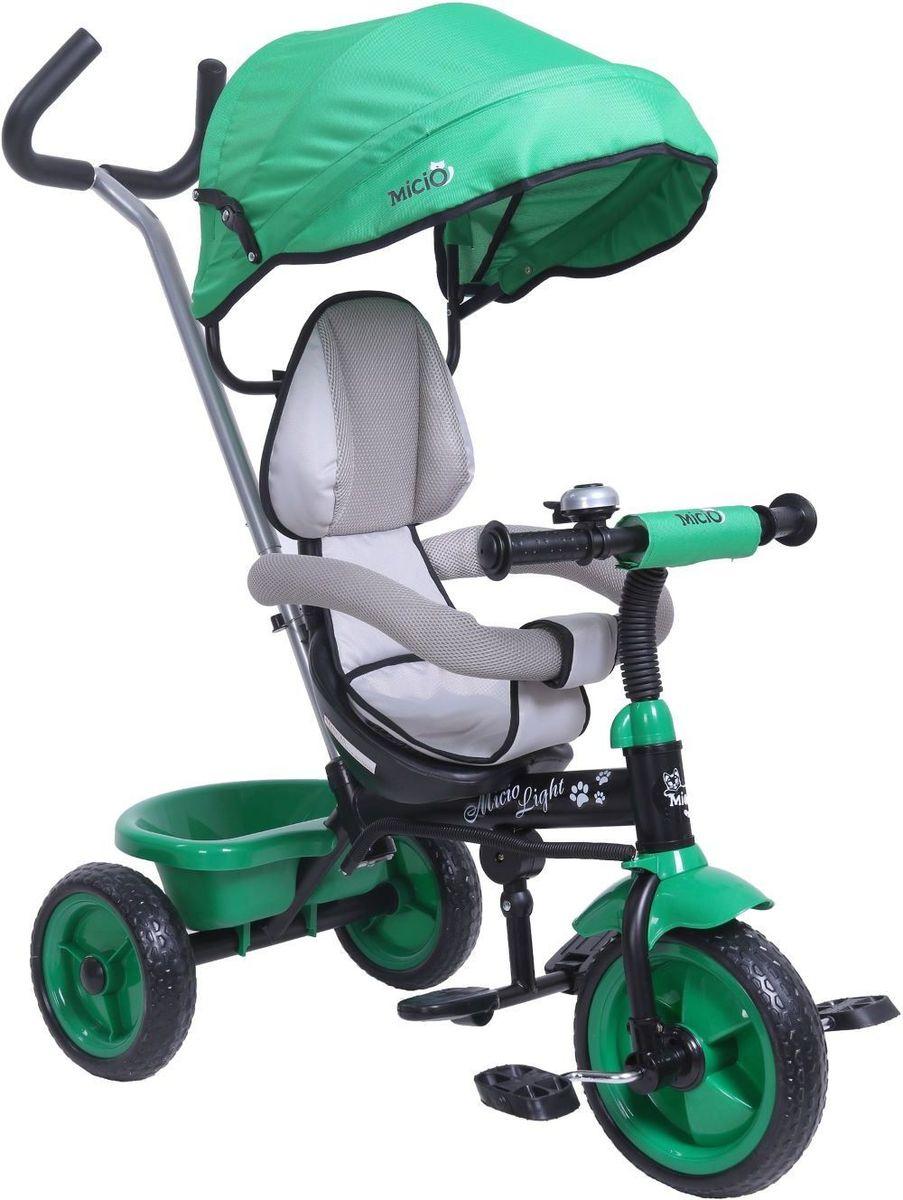 Micio Велосипед детский трехколесный Micio Light 2017 цвет зеленый -  Велосипеды-каталки