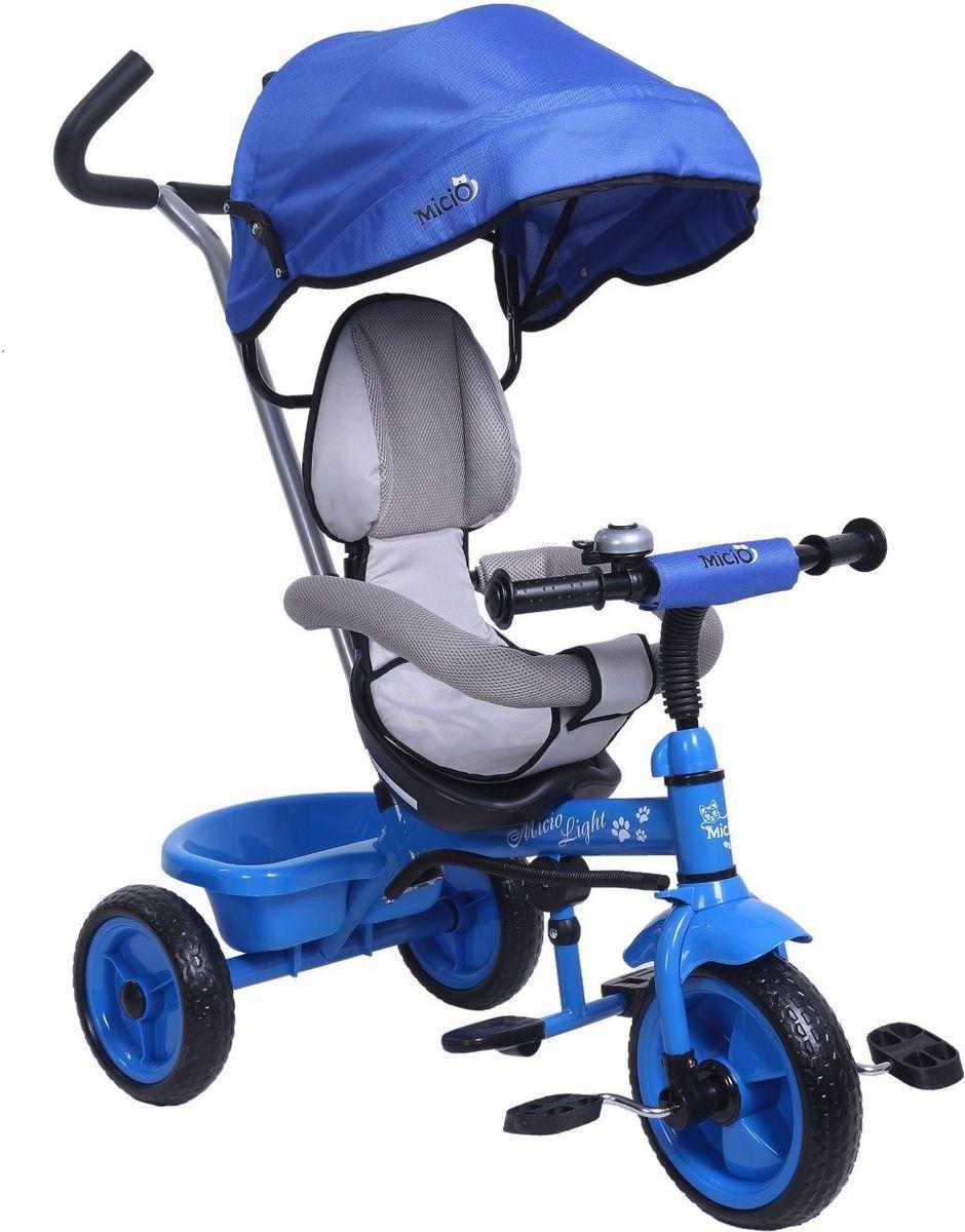 Micio Велосипед детский трехколесный Micio Light 2017 цвет синий -  Велосипеды-каталки
