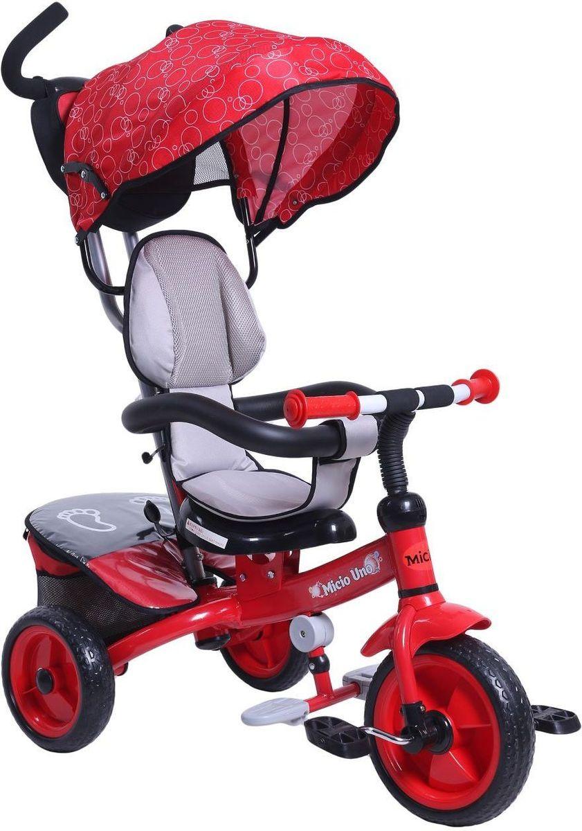 Micio Велосипед детский трехколесный Uno 2017 цвет красный - Велосипеды-каталки
