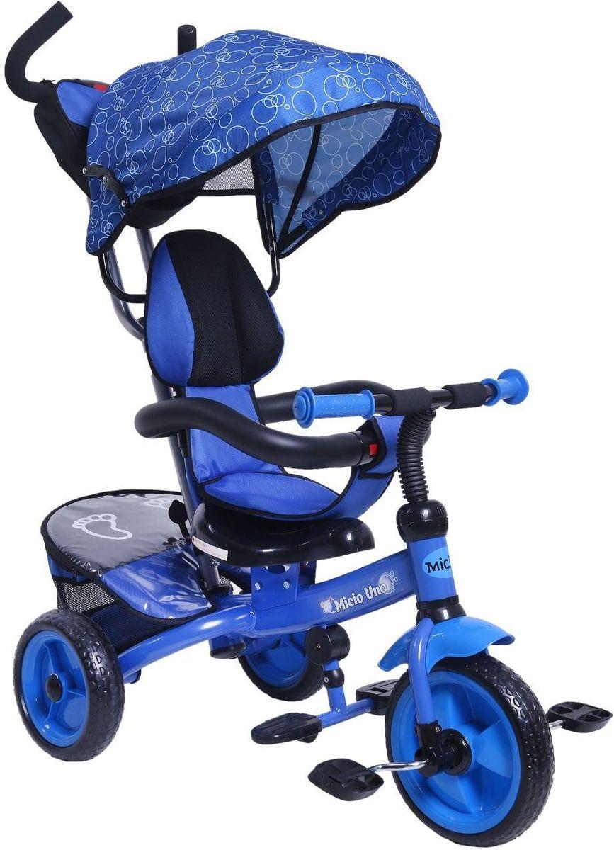 Micio Велосипед детский трехколесный Uno 2017 цвет синий -  Велосипеды-каталки