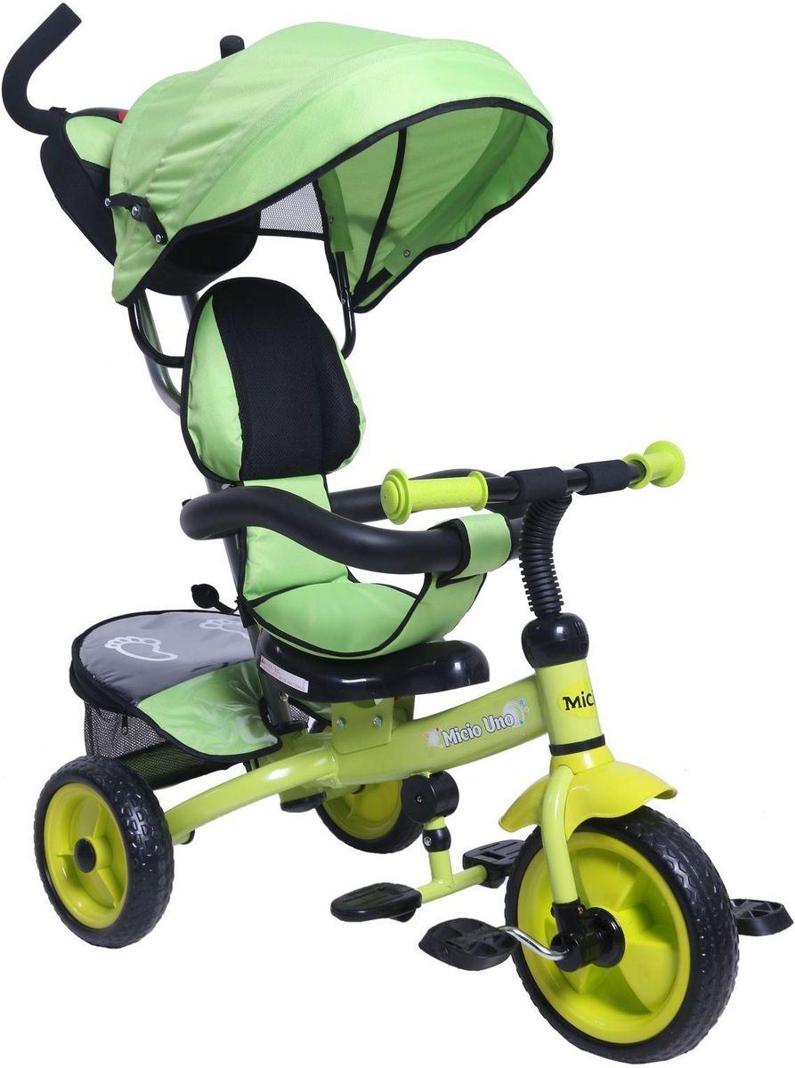 Micio Велосипед детский трехколесный Micio Uno 2017 цвет салатовый - Велосипеды-каталки