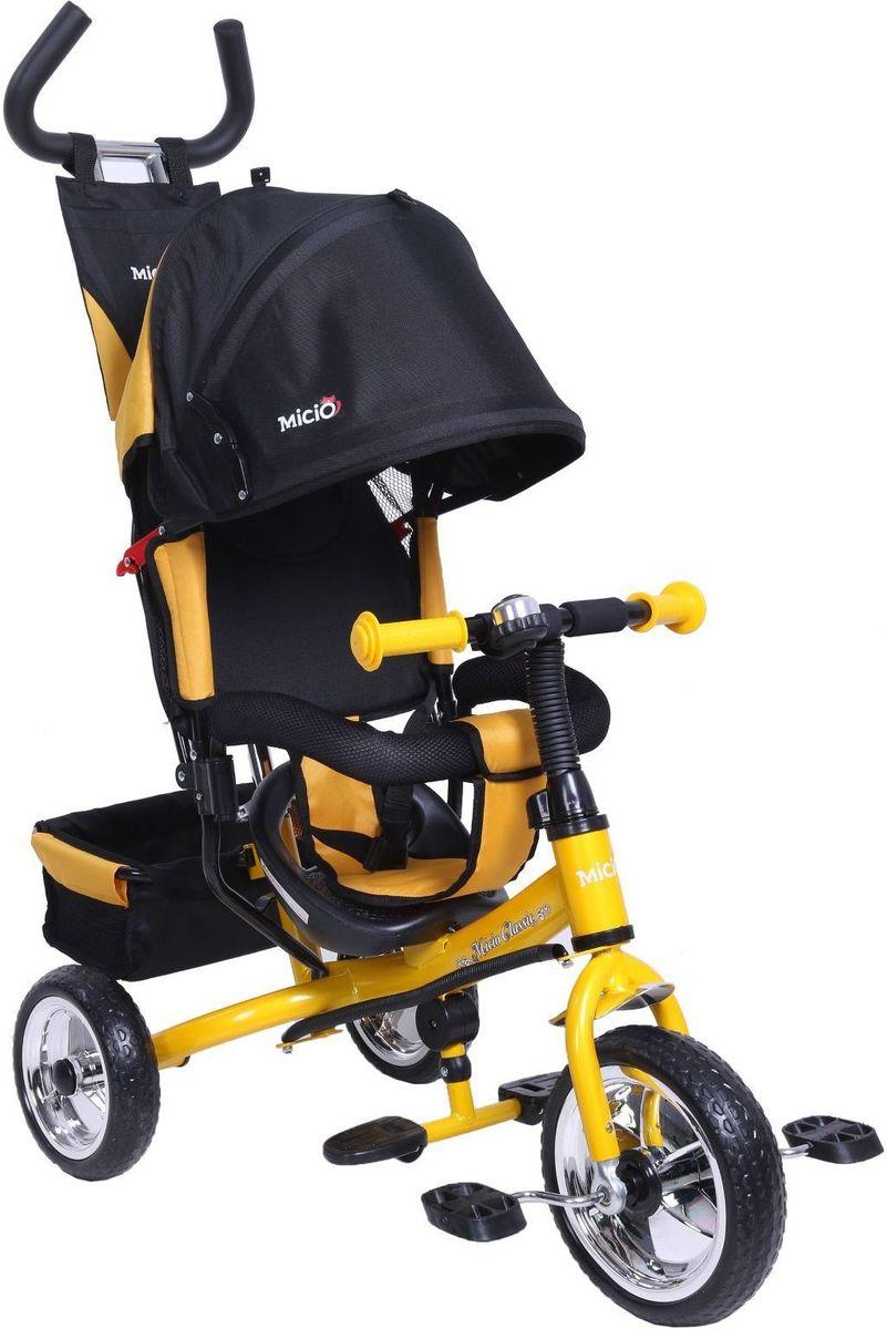 Micio Велосипед детский трехколесный Classic 2017 цвет желтый