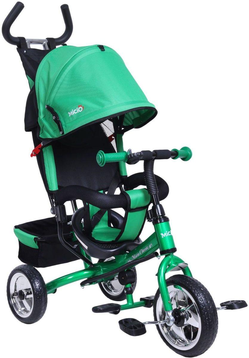 Micio Велосипед детский трехколесный Micio Classic 2017 цвет зеленый