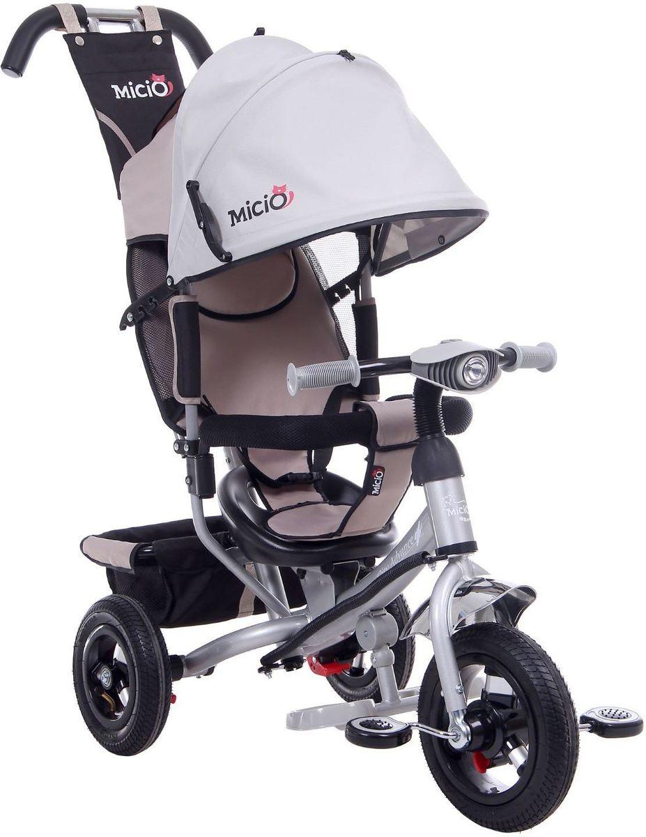 Micio Велосипед детский трехколесный Сity Advance 2017 цвет серый -  Велосипеды-каталки