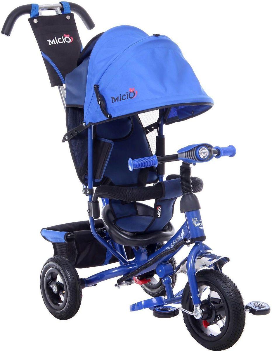 Micio Велосипед детский трехколесный Сity Advance 2017 цвет темно-синий - Велосипеды-каталки