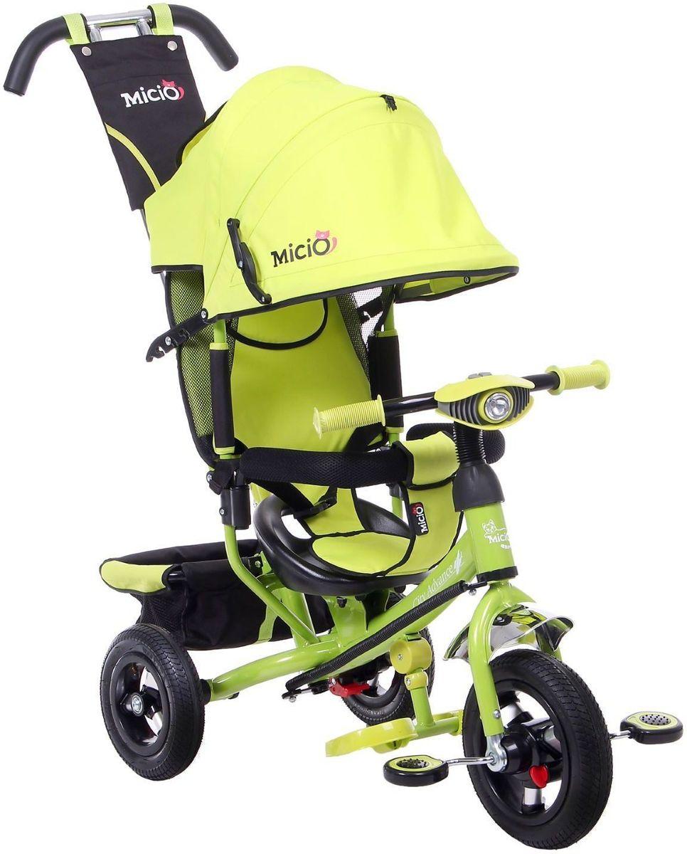 Micio Велосипед детский трехколесный Micio Сity Advance 2017 цвет зеленый
