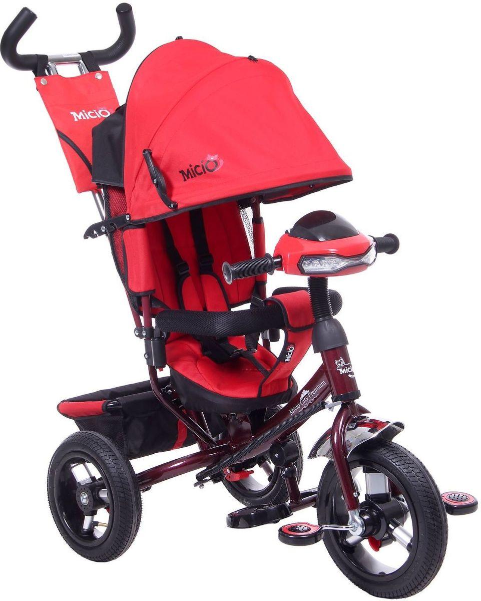 Micio Велосипед детский трехколесный Micio City Premium 2017 цвет красный